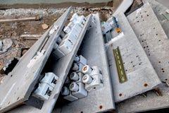 Старые коробки взрывателя Стоковое Изображение
