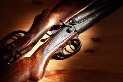 Старые корокоствольные оружия звероловства Стоковое Фото