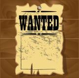 Старые, который хотят плакаты Стоковые Изображения