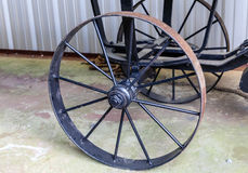 Старые колеса автомобиля металла Стоковые Фотографии RF