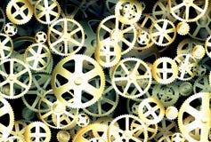 Старые колеса шестерни Стоковое Фото