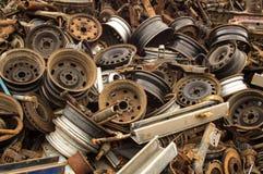 старые колеса Стоковое фото RF