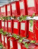 Старые красные олов стоковое фото