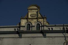 Старые красочные возобновленные фасады в Newtown, Сиднее Стоковое Изображение