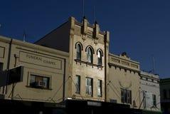 Старые красочные возобновленные фасады в Newtown, Сиднее Стоковое Изображение RF