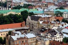 Старые крыши стоковое фото