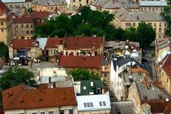 Старые крыши стоковое фото rf