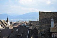 Старые крыши Стоковые Фото
