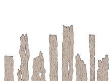 Старые куски дерева Стоковые Фото