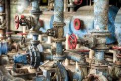 Старые клапаны в conlonial стиле засахаривают фабрику в Gondang, Индонезии Стоковое Фото