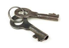Старые ключи Стоковые Изображения