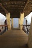 старые лестницы деревянные Стоковое Фото