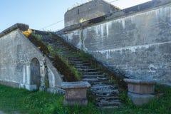 старые лестницы Стоковое Изображение