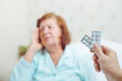 Старые люди концепции здравоохранения Стоковые Фото