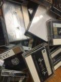 Старые магнитофонные кассеты компакта TDK Стоковая Фотография RF