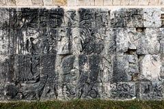 Старые майяские игроки шарика Стоковые Изображения RF