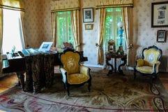 Старые мебели на историческом немецком музее Valdivia, Чили Стоковая Фотография RF