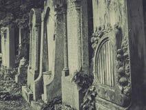 Старые могилы стоковое изображение rf