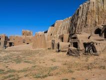 Старые монгольские поселения Стоковые Изображения RF