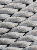 Старые морские веревочка, текстура и предпосылка. Стоковая Фотография