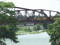 Старые мосты в Техасе Стоковая Фотография