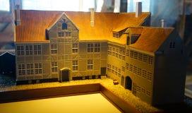 Старые модели городка стоковые фотографии rf