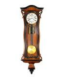 Старые настенные часы Стоковые Изображения RF