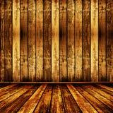 старые несенные обои комнаты Стоковое Изображение RF