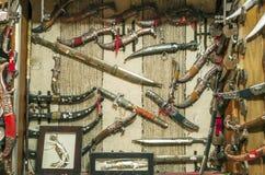 Старые ножи стоковые изображения