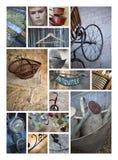 Старые объекты и антиквариаты стоковое фото rf