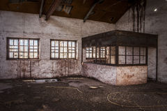 Старые объекты покинули шахты Alquife Стоковые Изображения RF
