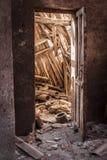 Старые объекты покинули шахты Alquife Стоковое фото RF