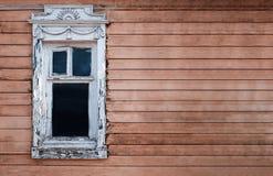 старые окна деревянные Стоковые Изображения