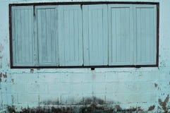 старые окна деревянные Стоковое Изображение RF