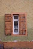 старые окна штарок Стоковая Фотография