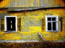 старые окна Стоковые Фото