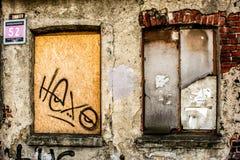 старые окна стоковое фото rf