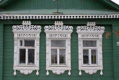 старые окна Стоковое Изображение