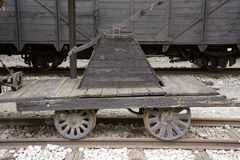 Старые локомотивы и фуры Стоковая Фотография