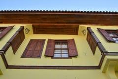 Старые дома Антальи стоковое изображение