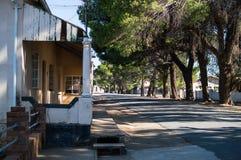 Старые дома в Philippolis, освободившееся государство, Южной Африке Стоковая Фотография