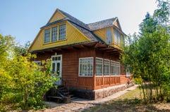 Старые дома принятые в парк Стоковые Изображения RF