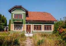 Старые дома принятые в парк Стоковое Фото