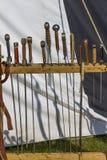 Старые оси и шпаги Стоковая Фотография RF