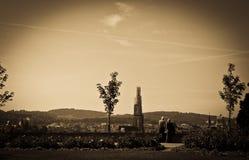 Старые пары в Bern стоковая фотография rf