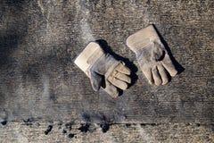 Старые перчатки конструкции Стоковые Изображения RF