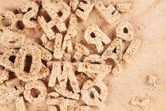 старые письма от хлеба стоковые изображения