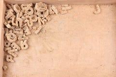 старые письма от хлеба стоковое фото rf