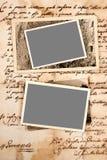Старые письма Стоковые Изображения