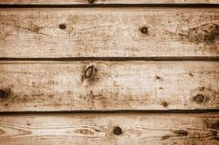 старые планки деревянные Стоковая Фотография RF